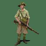 SGS Afrika Korps - Australian infantry