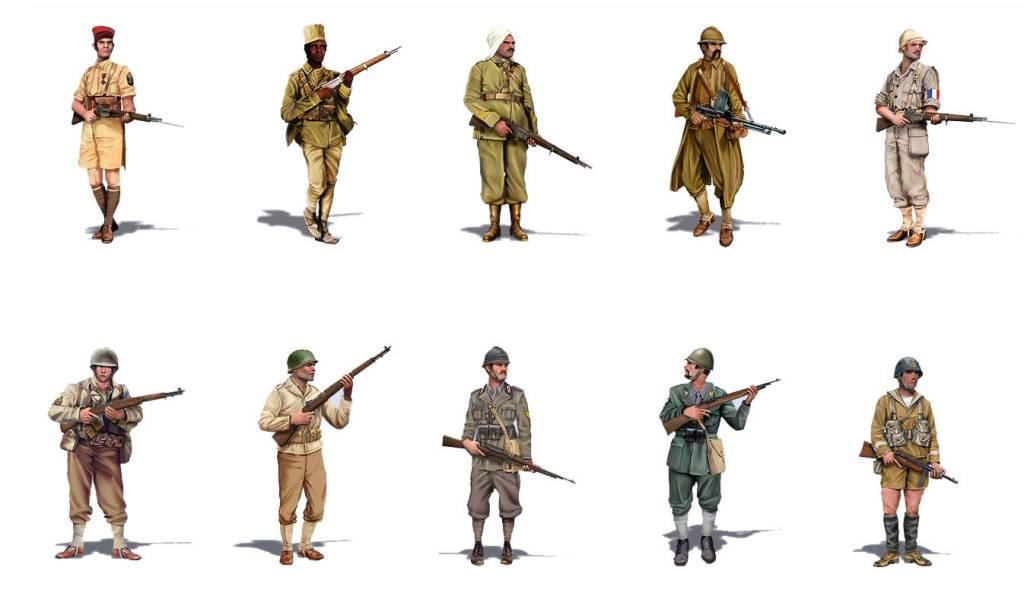 SGS Afrika Korps - Tunisia - Units