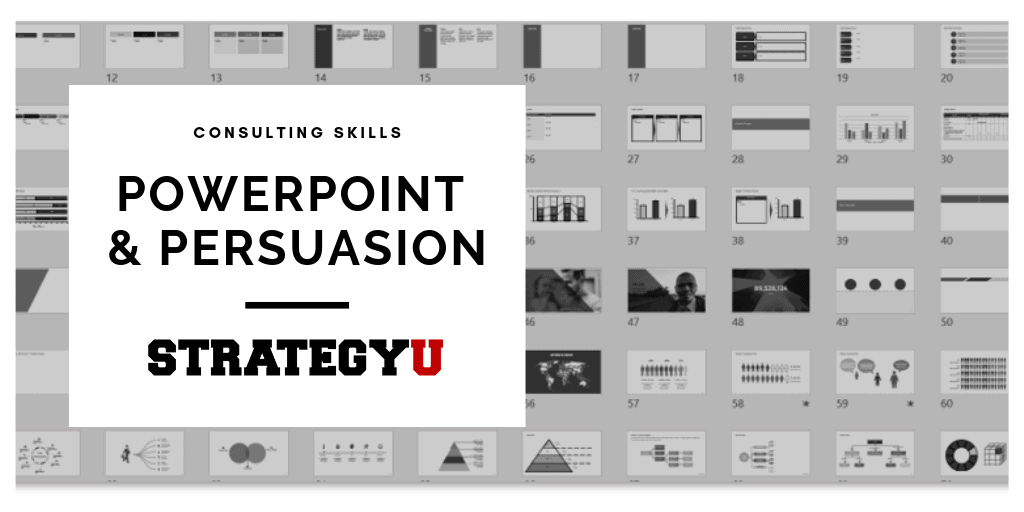 PowerPoint & Persuasion - Learn Secrets From Strategy Consulting