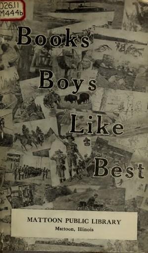 Books Boys Like Best
