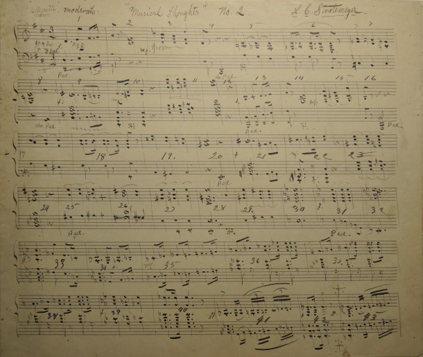 Musical composition by Louis Stratemeyer