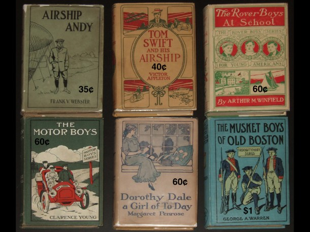 Book prices of Stratemeyer Syndicate books