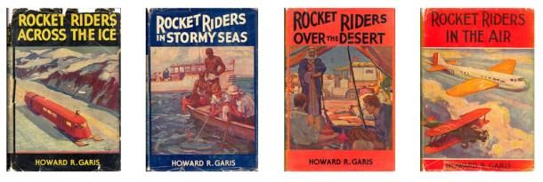 Garis Rocket Riders
