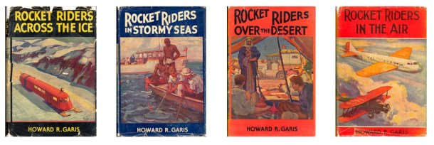 Garis Rocket Riders