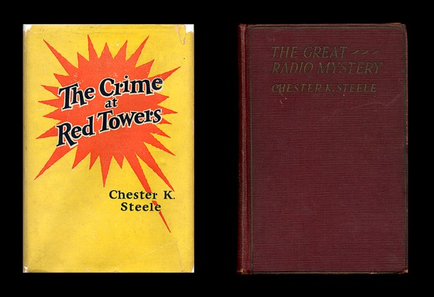 Chester K. Steele mysteries