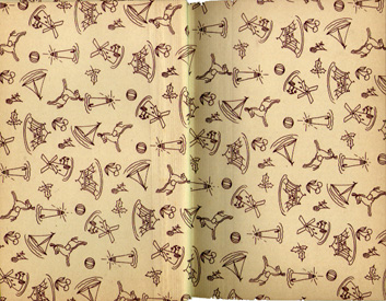 Toy Endpaper Bobbsey Twins