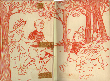 Tree Endpaper Bobbsey Twins