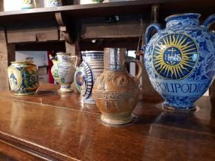 Medicine jars in the dispensary ©Stratfordblog.com