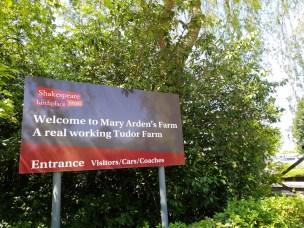 Welcome to Mary Arden's Farm ©Stratfordblog.com