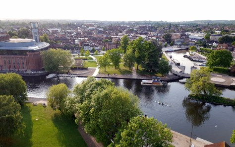 The River Avon will take centre stage during the Boat Regatta ©Stratfordblog.com