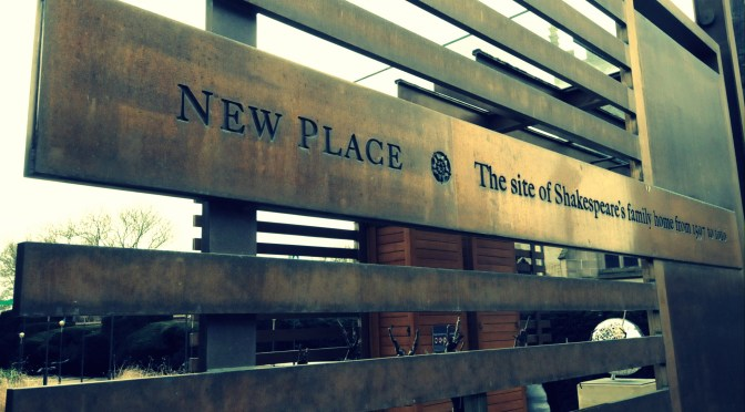 Visit Shakespeare's New Place