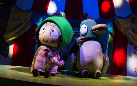 Sarah & Duck ©Pamela Raith