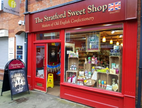 The Stratford Sweet Shop, one of the top 5 places for a sweet treat in Stratford-upon-Avon ©Stratfordblog.com