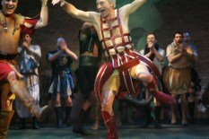 Patrick Stewart in Antony and Cleopatra in 2006. Photo by Pascal Molliere