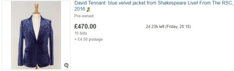 David Tennant blazer