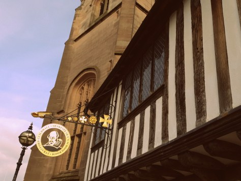 See the travelling players at Shakespeare's Schoolroom & Guildhall during the Stratford-upon-Avon May half-term ©Stratfordblog.com