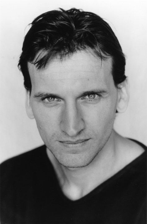 Christopher Eccleston, The RSC's current Macbeth, helps to open the 65th Stratford-upon-Avon Poetry Festival