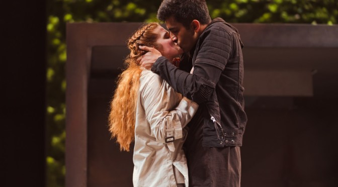 Romeo and Juliet production photos 2018. Photo by Topher McGrillis (c) RSC
