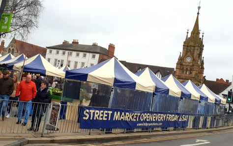 Weekly Stratford-upon-Avon markets ©Stratfordblog.com