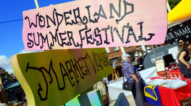 Wonderland Summer Festival in Stratford-upon-Avon