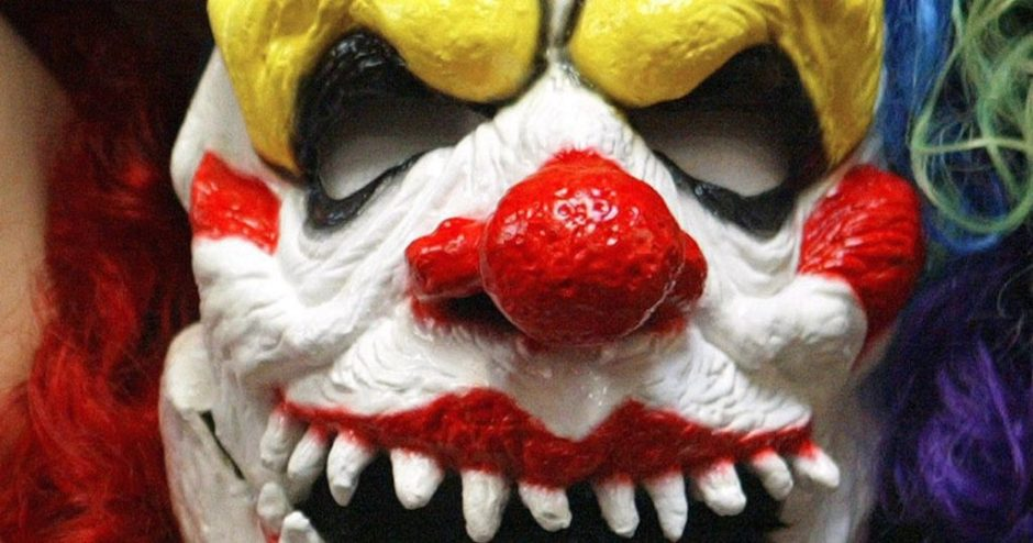 Clown-mask