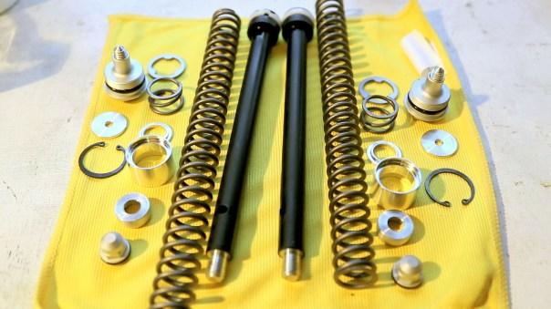Marzocchi fork internals MTB Suspension service