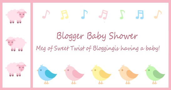 blogger baby shower