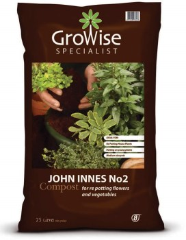 Growise john innes no. 2 compost available from strawberry garden centre uttoxeter
