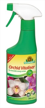 Neudorff Orchid_Vitaliser_250ml_available from strawberry garden centre uttoxeter