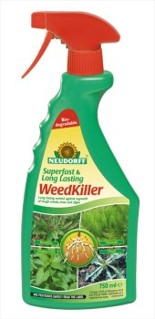 Neudorff Superfast WeedKiller_750ml available from Strawberry Garden Centre Uttoxeter
