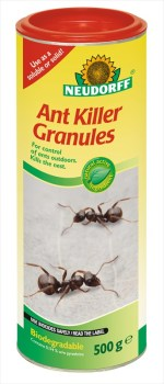 Neudorff ant_killer_granules available from Strawberry Garden Centre Uttoxeter