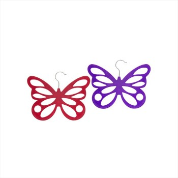 Equilibrium 54168 Butterfly Scarf Holder available from Strawberry Garden Centre, Uttoxeter