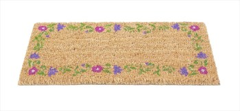 Garden & Home Company 82458 Foral Border Insert Mat available from Strawberry Garden Centre, Uttoxeter