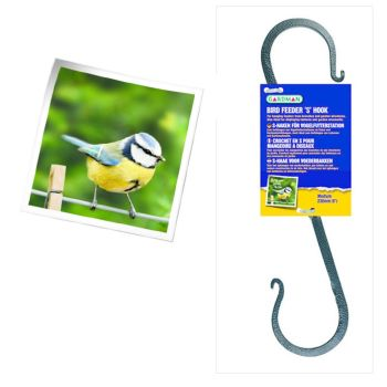 Gardman A01372 Medium Feeder S Hook available from Strawberry Garden Centre, Uttoxeter