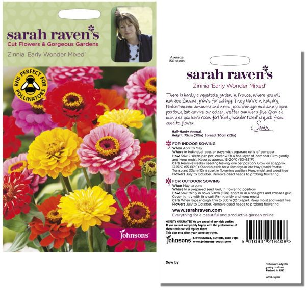 sarah-raven-zinnia-early-wonder-mixed-seeds-available-from-strawberry-garden-centre-uttoxeter