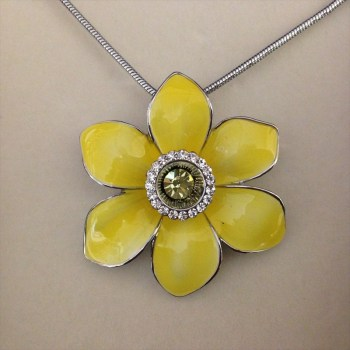 Equilibrium 274410 Radiant Daffodil Necklace available from Strawberry Garden Centre, Uttoxeter
