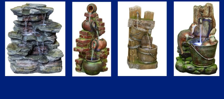 Kelkay Outdoor Water Features available from Strawberry Garden Centre, Bramshall, Uttoxeter