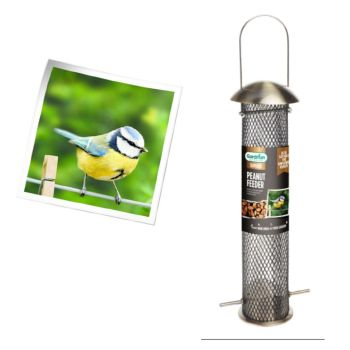 Gardman A01915 Supreme Peanut & Sunflower Heart Feeder for Wild Birds available from Strawberry Garden Centre, Uttoxeter