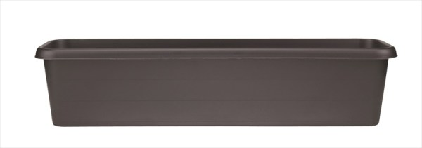 Stewart Plastics Black Terrace Trough available from Strawberry Garden Centre, Uttoxeter