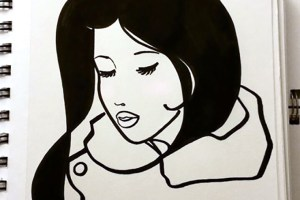 sketchbook_blush_woman_drawing_inked