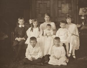 Sailer Children Seated