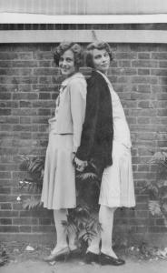 Mary at the Right, with Her Sister Elizabeth (Betty)