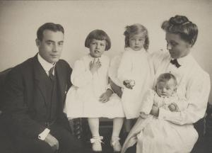 Dr. Joseph Sailer with Family
