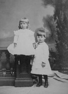 Mary Lowber Strawbridge and her Brother John