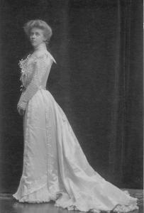 Mary Lowber Strawbridge in Gown