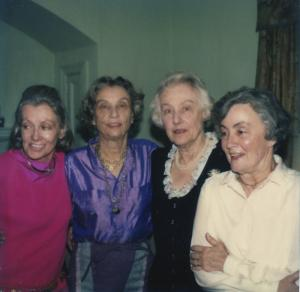 Sailer Sisters 1981: Priscilla, Mary, Alice, Betty