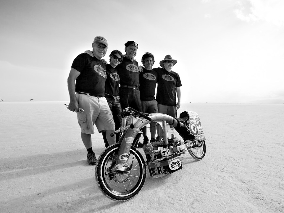 Salt Flats Land Speed Racing