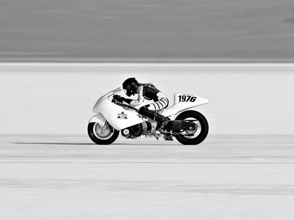 Bonneville Salt Flats Land Speed Racing Leslie Porterfield motorcycle