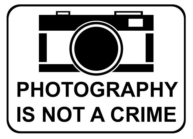 PHTOGRAPHY IS NOT A CRIME