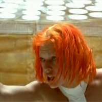 The Fifth Element Hairstyles & Color - Milla Jovovich - Chris Tucker and More